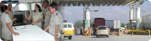 Customs brokers service for border crossing in Laredo, import and export tariffs and duties