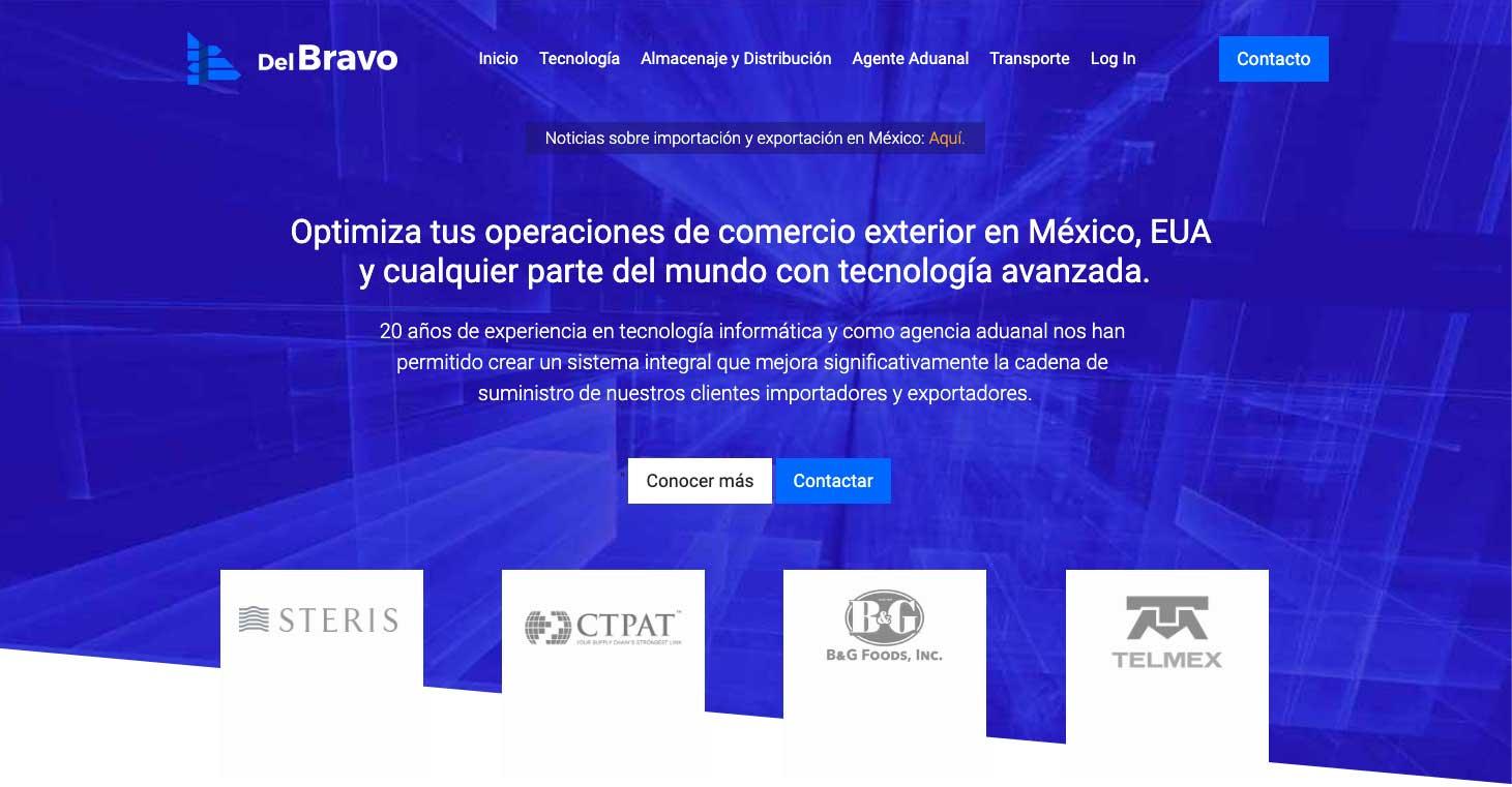 Del Bravo | Optimizando el Comercio Exterior en México, EUA y Todo el Mundo.