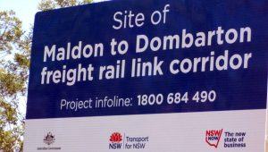 Freight's not great for South Coast line, says NSW Minister