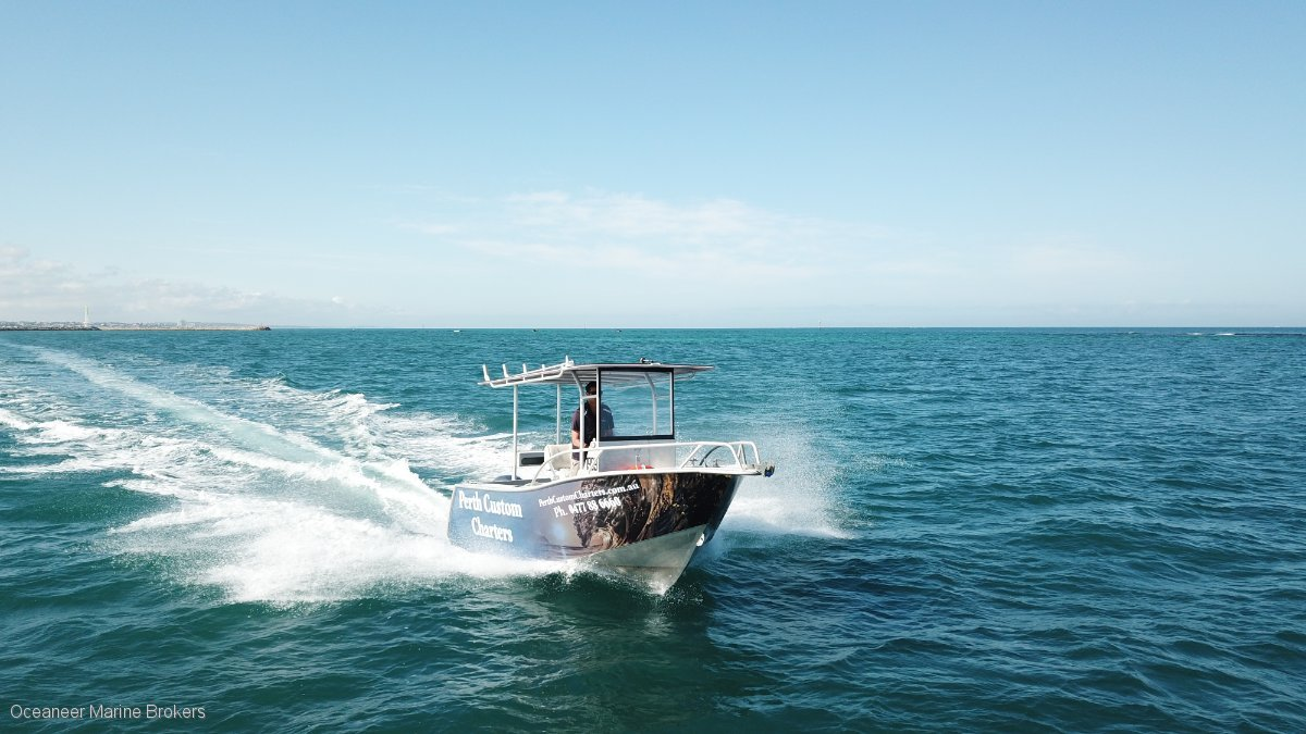 SN 1165 Chivers Custom Centre Console In 2D Survey – Used & New Commercial Boats for Sale In WA, Australia