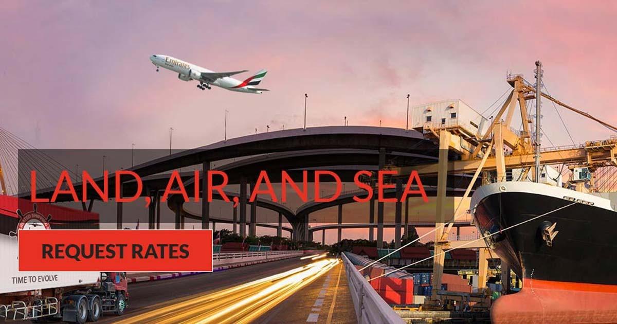 International Air Freight Management Company, Door-to-Door Freight Services