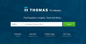 Thomasnet® – Product Sourcing and Supplier Discovery Platform