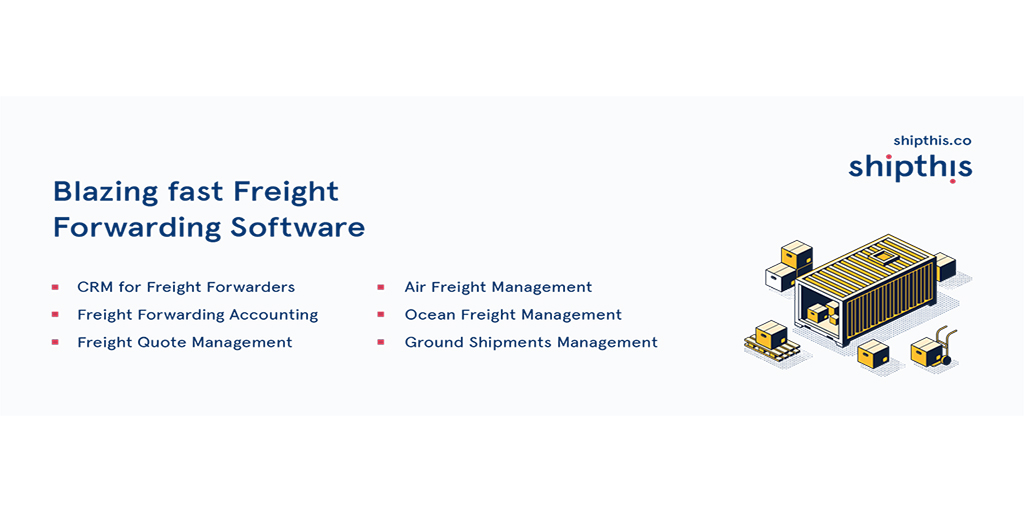 Freight Forwarding Software – Freight Management System