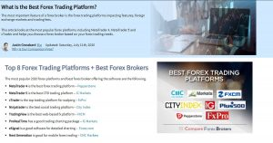 The Best Forex Trading Platforms