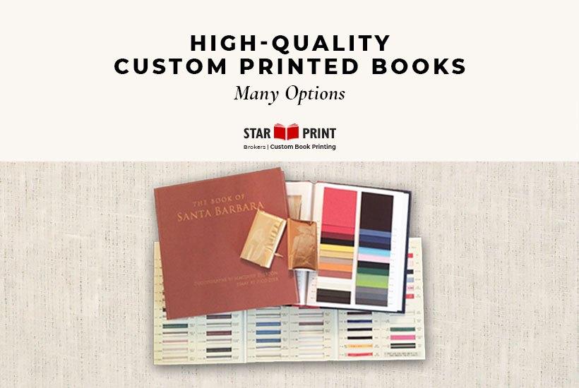 Custom Printed Books & Options
