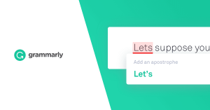 Write your best with Grammarly.