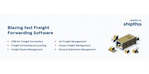 Freight Forwarding Software – CRM, ERP, Account