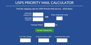 USPS Priority Mail Calculator 2020
