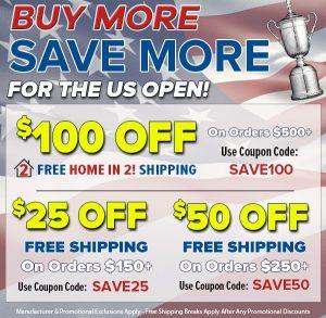 US Open Sale!
