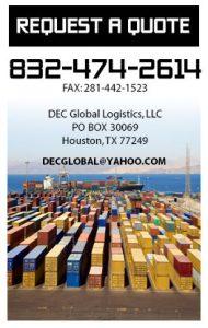 DEC Global Logistics | International Freight Forwarding & Logistics