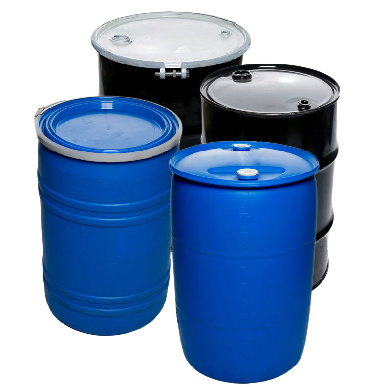 Shipping Barrels, Drums & Totes