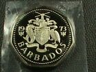 BARBADOS   1 Dollar   1973  FROSTED PROOF   $ 3.99  maximum  shipping  in  USA  #Coins&PaperMoney