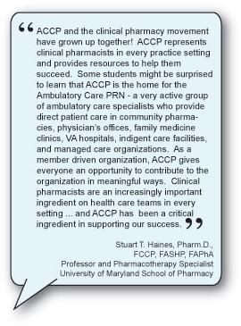 ACCP – Definition of Clinical Pharmacy