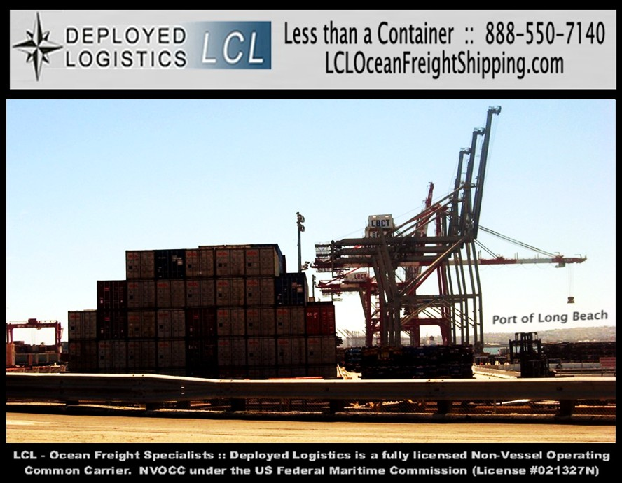 Vancouver, Canada LCL Ocean Freight Shipping