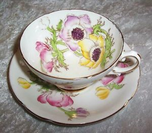Stanley Fine Bone China  England Cup & Saucer