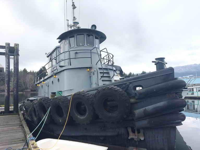 Island Sea Pearl – Steel Tug