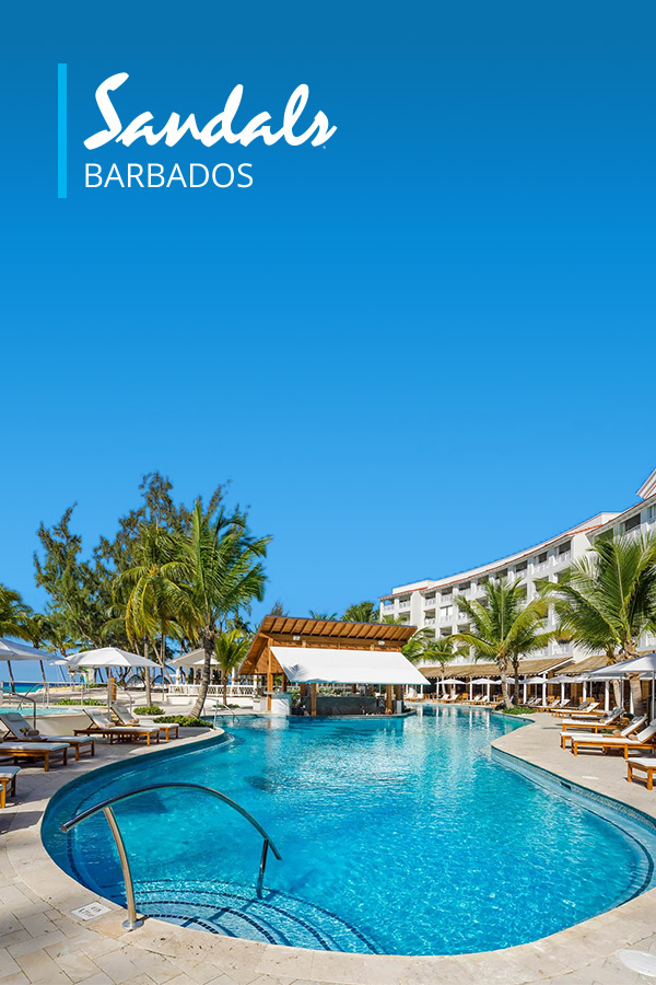 SANDALS Barbados: Five Star Luxury in St. Lawrence Gap