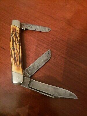 Vintage Camillus #89 Stockman 3 Blade Pocket Knife NY, USA