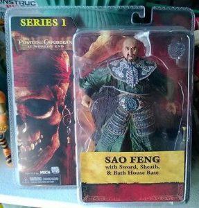 6″ Pirates of the Caribbean Sao Feng figure Neca