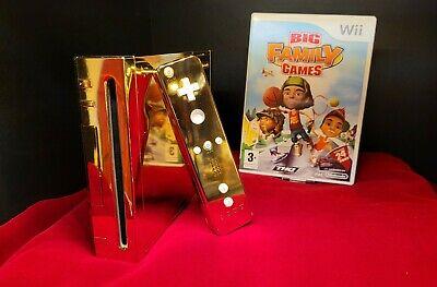 24 Karat Golden Nintendo Wii that was made for Queen Elizabeth the 2nd