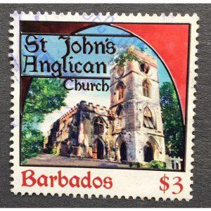 Barbados 2013 Places of Worship SG 1403 $3 St John's Anglican Church on eBid United Kingdom