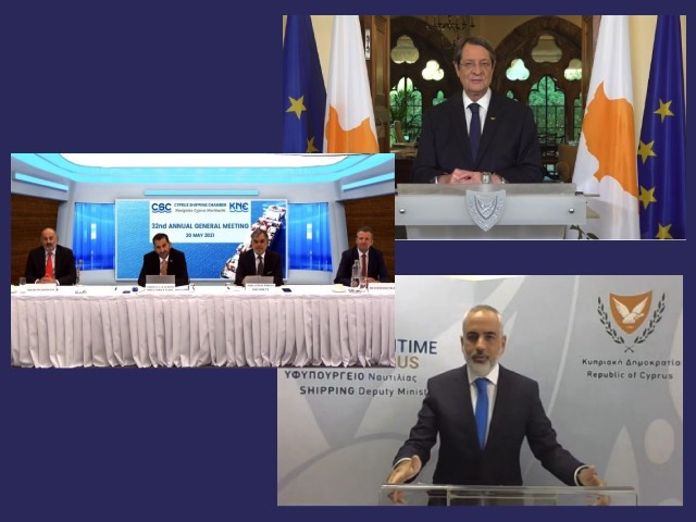 Cyprus Shipping at the spotlight through the virtual 32nd Annual General Meeting of the Cyprus Shipping Chamber