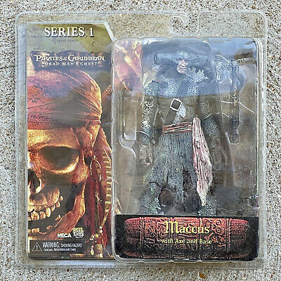 Neca Series 1 Pirates Of The Caribbean Dead Man's Chest Maccus With Axe And Base