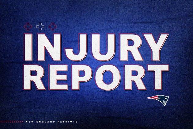 Week 4: Patriots – Buccaneers Injury Report