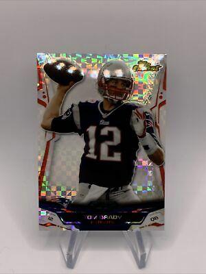 2014 Topps Finest Tom Brady Xfractor
